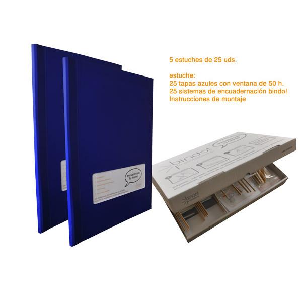 TAPA BINDO 350 gr BLAU (01-50f) FINESTRA