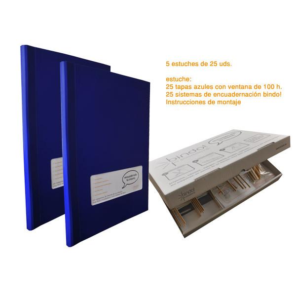 TAPA BINDO 350 gr BLAU (50-100f) FINESTRA