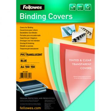 Tapas encuadernación A4 PVC transparente 180 groc