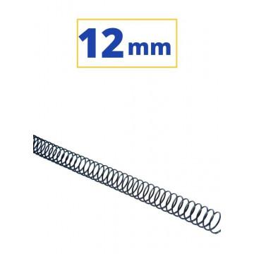 CANUTO ESPIRAL METALIC (5:1 12 mm 80 FULLS) NEGRE