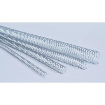 Espiral metálico 5:1 32mm blanco capacidad 280 hojas caja 50 un.