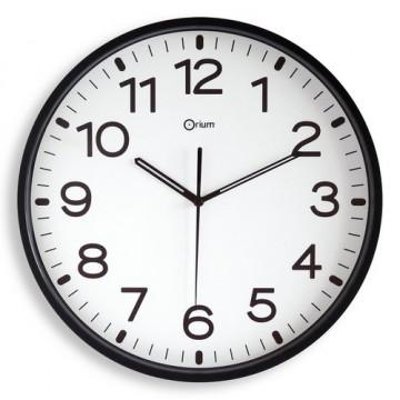 Reloj analógico 30 cm. color Negro Archivo 2000