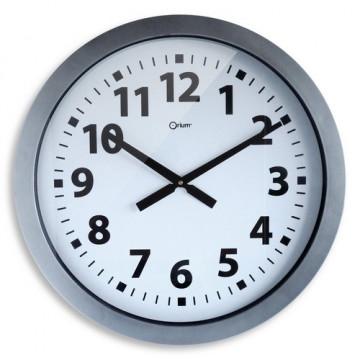 Reloj analógico 60 cm. acero Archivo 2000