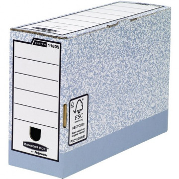 Caja archivo definitivo folio 120mm. gris