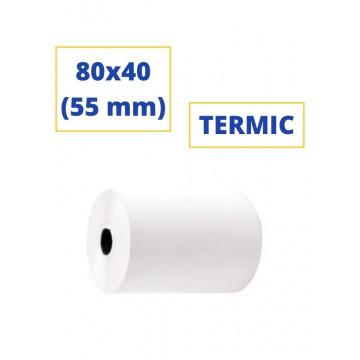 ROTLLO SUMADORA TERMIC  80x40 (55 mm)(SENSE BISFENOL)