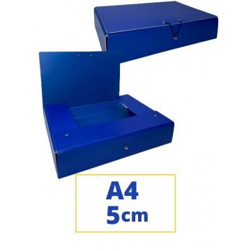 CARP. PROJECTES A4 050x340x250mm BLAU