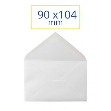 SOBRE BLANC 090x140 MINIM CORREUS (100u)