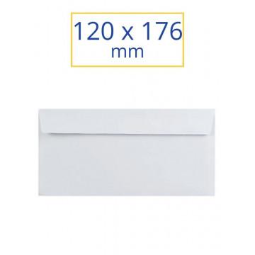 SOBRE BLANC ADH.120x176 NORMAL (100u)