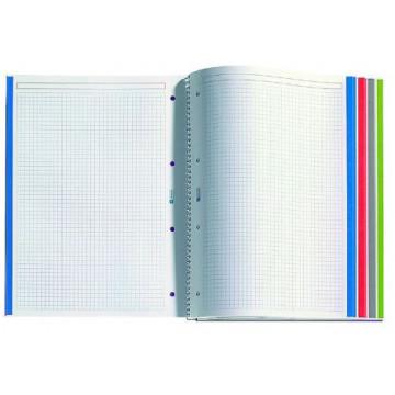CUAD. ESP. NOTE BOOK A4 CUADRICULA LLICENCIES              (ABO)