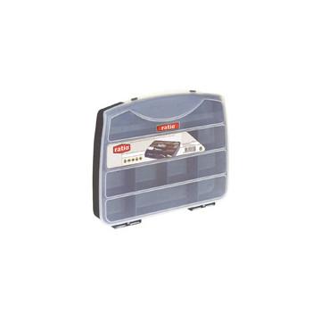 CAIXA PLASTIC 190x160x037 08 DEP. FIXES (FE)