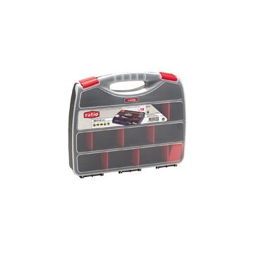 CAIXA PLASTIC 380x310x60 18 DEP. MOVILS (FE)
