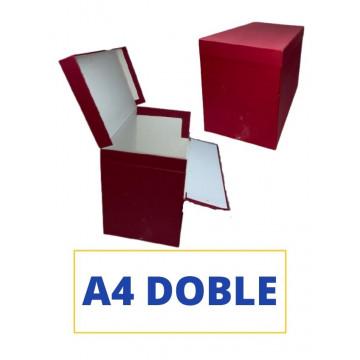 CAIXA TRANSFER A4 (DOBLE) 390x255x110 VERMELL