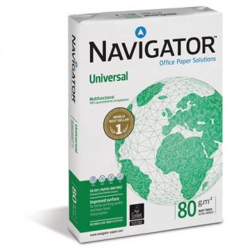 PAPER DIN A4  80 GR. (500u) NAVIGATOR (cie169)