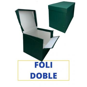 CAIXA TRANSFER FOLI (DOBLE) 390x260x210 VERD