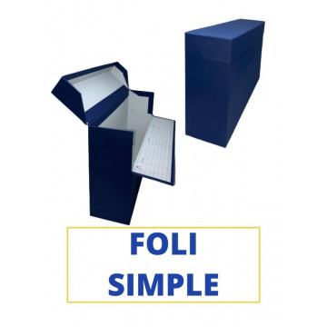 CAIXA TRANSFER FOLI (SIMPLE) 390x255x110 BLAU