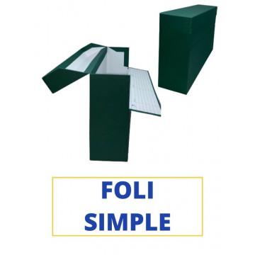CAIXA TRANSFER FOLI (SIMPLE) 390x255x110 VERD