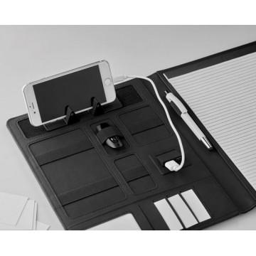 PORTA BLOC A4 SOPORT TABLET + POWERBANK 4000mAh