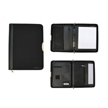 Portafolio A4 con Anillas Dynamic Serie Black Line Office Box