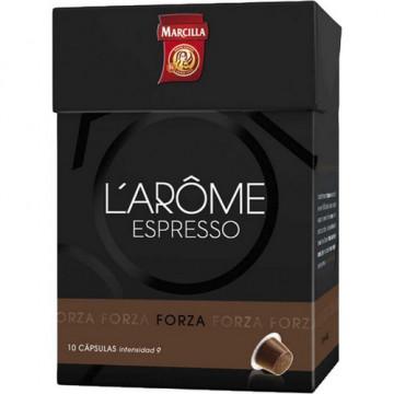 Café cápsulas monodosis pack 10 unidades Forza Mar