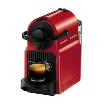 Cafetera Nespresso Inissia XN1005 roja