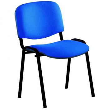 Silla confidente tapizada  azul Rocada RD965