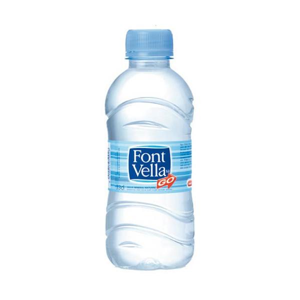 ZZ Botella agua Font Vella 0.33L