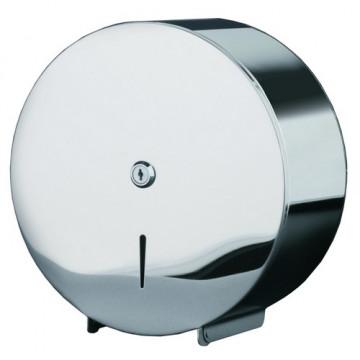 Dispensador higiénico industrial acero inoxidable para rollo 300
