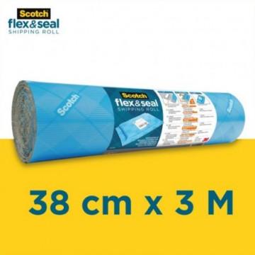 PLASTIC BOMBOLLES   3m x 58cm flex & seal SCOTCH
