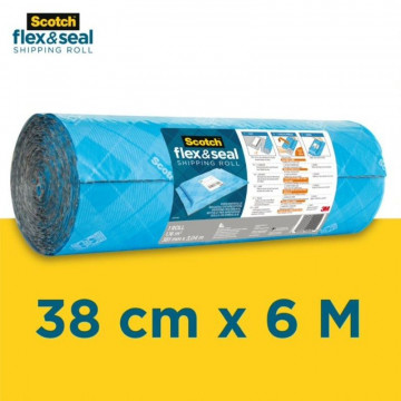 PLASTIC BOMBOLLES   6m x 58cm flex & seal SCOTCH