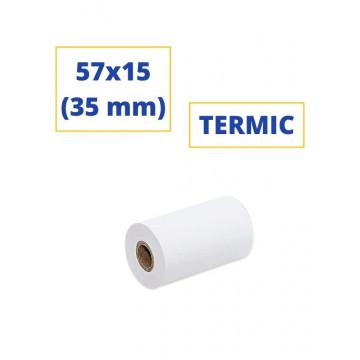 ROTLLO SUMADORA TERMIC  57x15 (35 mm)(SENSE BISFENOL)