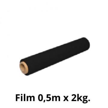 FILM EXTENSIBLE 500mmx250m NEGRE 23 micras