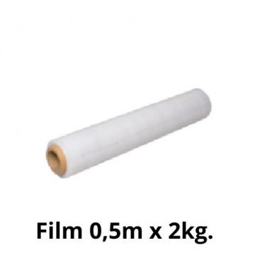 FILM EXTENSIBLE 500mmx250m TRANSPARENT 23micras