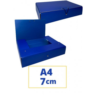 CARP. PROJECTES A4 070x340x250mm BLAU