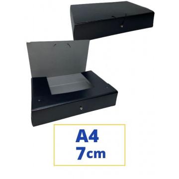 CARP. PROJECTES A4 070x340x250mm NEGRE