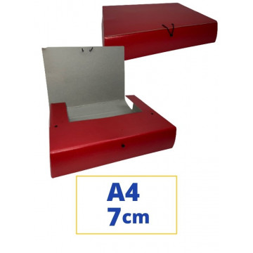 CARP. PROJECTES A4 070x340x250mm VERMELL