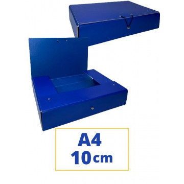 CARP. PROJECTES A4 100x340x250mm BLAU