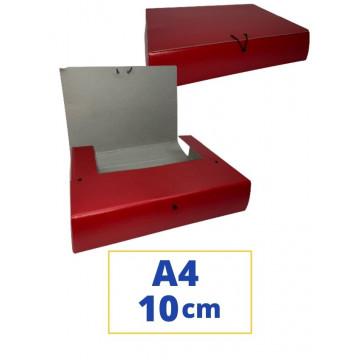 CARP. PROJECTES A4 100x340x250mm VERMELL
