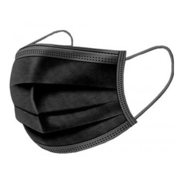 MASCARILLA PROTECCIO FILTRE 3 CAPES NEGRE (COVID)