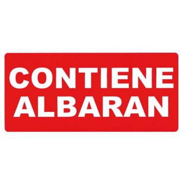 ETIQUETES CONTIENE ALBARAN 050x100 APL295 (200u)