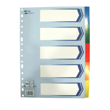 SEP.  5 POS. PLASTIC OPAC (225x297) DIN-A4