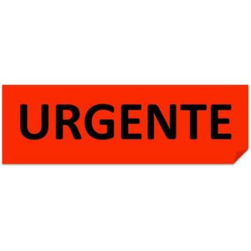 ETIQUETES URGENTE (100x50) (200u)