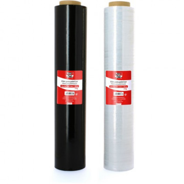 Film extensible 23 micras 500 mm. 2,4 kg Transparente Fixopack