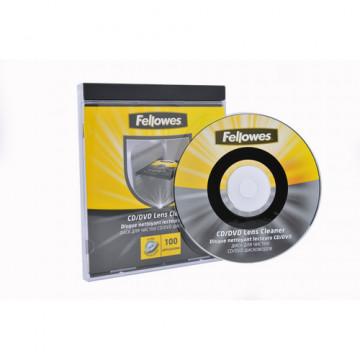 COMPACK DISK NETEJA LECTOR CD/DVD FELLOWES