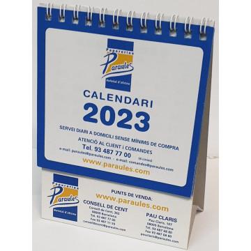 CALENDARI TAULA ESP. M/V 115x130 OFIEXPERTS PARAULES 2021