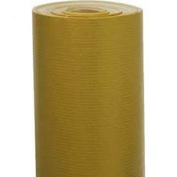 Papel kraft verjurado 250x0,7m UNICOLOR dorado