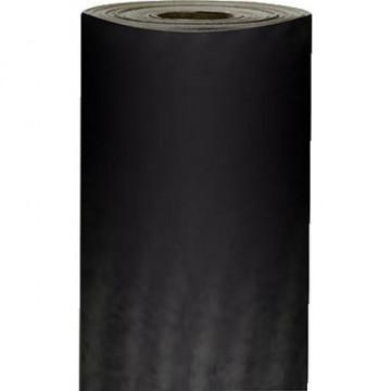 Papel kraft verjurado 250x0,7m UNICOLOR negro