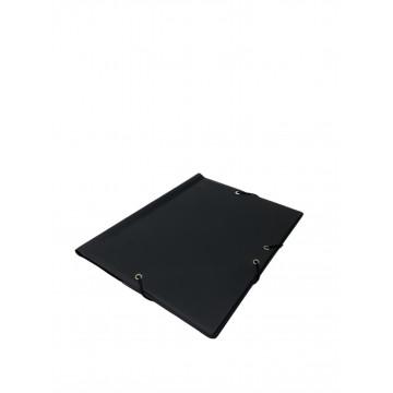 CARP. GOMES BOSSA FOLI PLASTIC NEGRE (26x33)               (ABO)