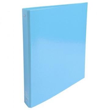 Carpeta anillas A4 4 anillas 30mm cartón forrado Iderama  azul c