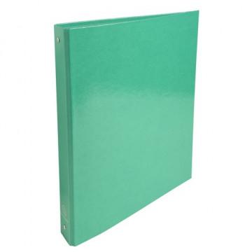 Carpeta anillas A4 4 anillas 30mm cartón forrado Iderama  verde