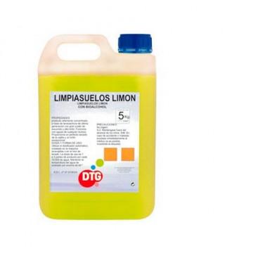 Limpiasuelos olor limón 5 kg.
